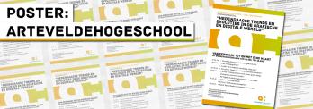 Poster: arteveldehogeschool Seminarie kwartaal