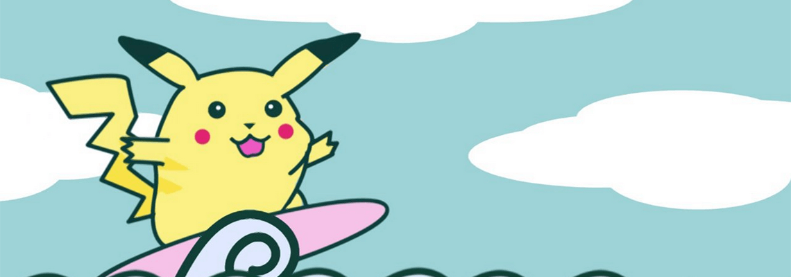 Pokemon: Surfing Pikachu