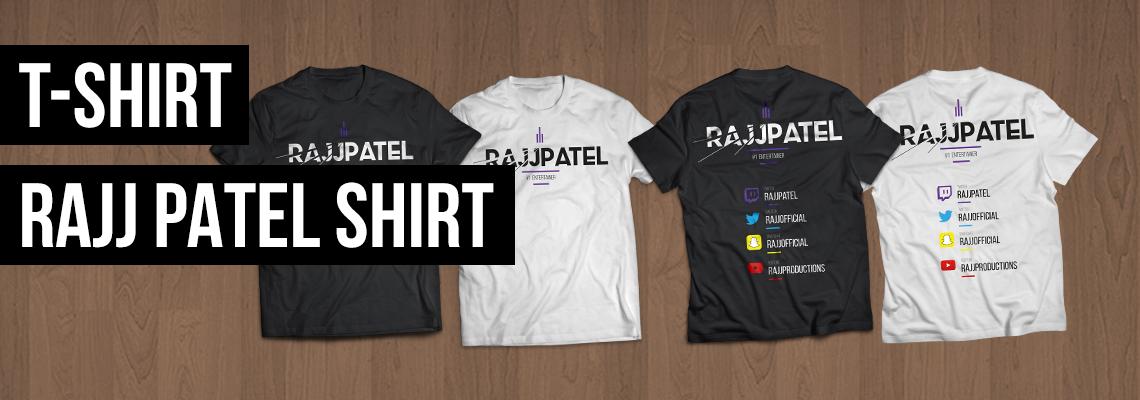 T-Shirt: Rajj Patel